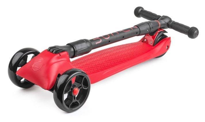 Samokat Zycom Zinger Maxi XL Black Red Folded