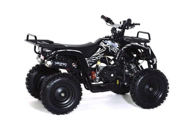 Квадроцикл детский бензиновый MOTAX ATV Х-16 Мини-Гризли с электростартером и пультом (пульт, задний привод, до 45 км/ч)