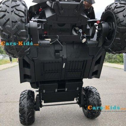 Электромобиль Buggy XMX603 MP4 красный (сенсорный дисплей, 2х местный, полный привод, резина, кожа, пульт, музыка)
