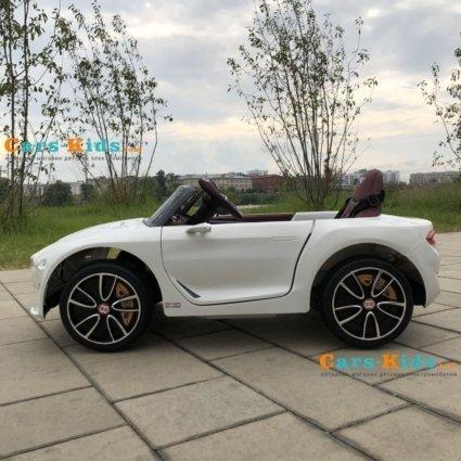 Электромобиль Bentley EXP12 (колеса резина, кресло кожа, пульт, музыка)
