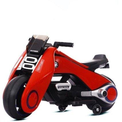 Электромотоцикл BMW Vision Next 100 - BQD-6188-RED (широкие колеса, музыка, свет фар)