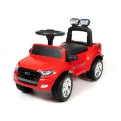 Толокар Ford Ranger DK-P01 красный (колеса резина, кресло кожа, свет фар, музыка)
